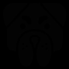 Angry Bulldog Face Download