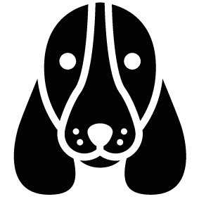 Dog head silhouette png - photo#12