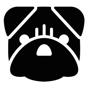 Dog head silhouette png - photo#17