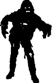 Zombie Silhouette | Silhouette of Zombie