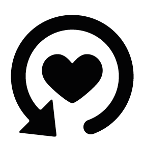 Heart with Refresh Arrow Download