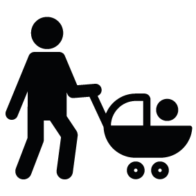 Man with Stroller Download