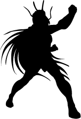 Dragon Shiryu Silhouette