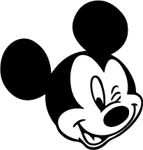 disney cartoon vector cliparts