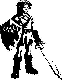 26+ Zelda Silhouette  PNG