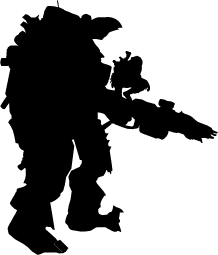 Titanfall Silhouette Silhouette Of Titanfall